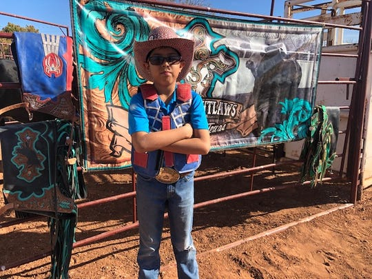 Isa Moreno, 10,qualified for the IMBA World Finals in the Jr. Mini Bulls category.