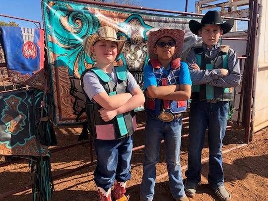 San Angelo Kids Qualify For Miniature Bull Riding World Finals