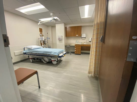 Pictured is a new room in the Emergency Department at North Caddo Medical Center in Vivian. The hosptial held a open house on Tuesday, Dec. 3, 2019.