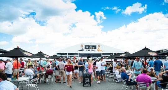 The Bear Trap features 40,000 square feet of multiple types of seating — including stadium, outdoor and covered — and food and beverages for sale.