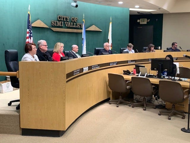 First-term Simi Valley City Council member Ruth Luevanos, left, was passed over Monday night for appointment as mayor pro tem, even though she was next in line under the city's established rotation system.