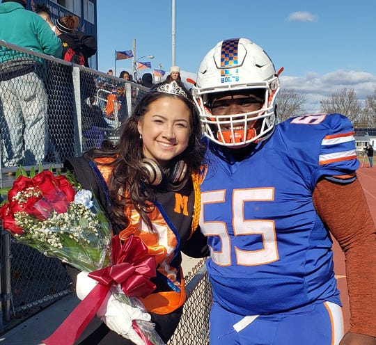 Millville High School'sHomecoming Queen and King are Maia Morales and Tyrell Dunn.