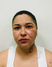Suspect Yvonne Quintana, 31, is accused of running from police and opening fire at a home on Meadow Avenue.
