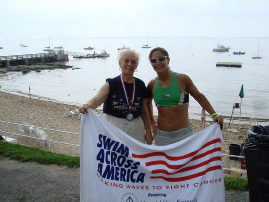 """Veronica """"Roni"""" Luongo and her daughter Andrea Luongo of New Rochelle, who is honoring her mother by fighting against dementia."""