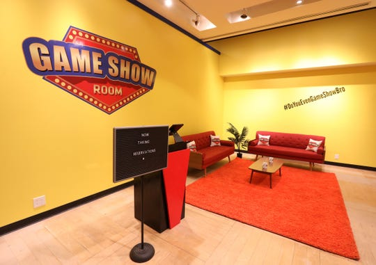 The new 'Game Show Room' location at the Palisades Center Mall in West Nyack on Tuesday, December 3, 2019.