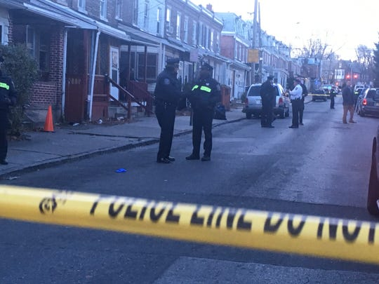 Wilmington Police investigates a shooting on East 24th Street Tuesday that sent a man to the hospital.
