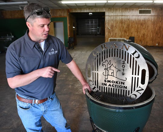 Keith Wineinger, owner of The Burn Shop, talks about the custom, steel barbecue grates his business makes for customers all over the world.