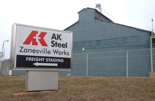 The AK Steel facility in Zanesville.
