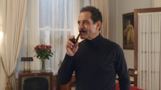 """Tony Shalhoub as Abe Weissman on """"The Marvelous Mrs. Maisel."""""""