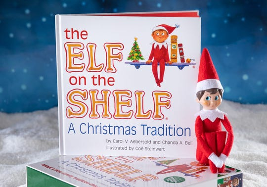 """The Elf on the Shelf"" box set."