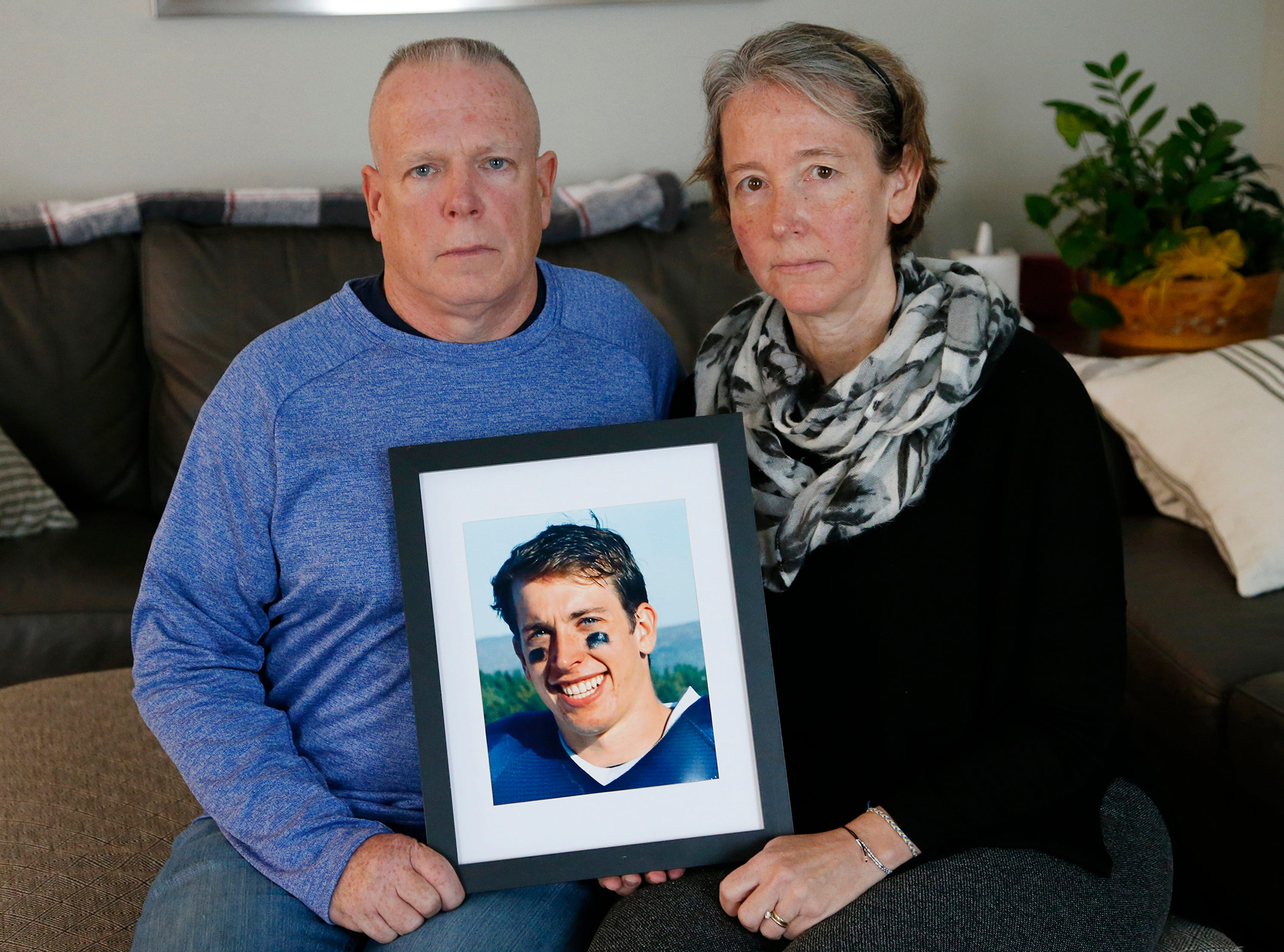 Concussions and contact sports: What these parents learned from their son s death