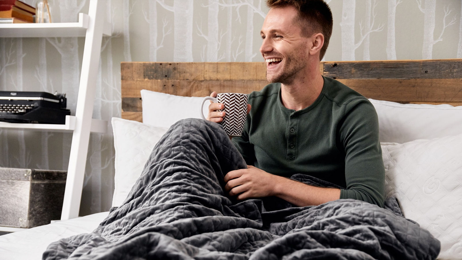 People are obsessed with the Gravity Blanket—and now it's on sale for Prime Day