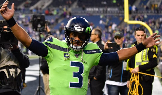 QB Russell Wilson has led the Seahawks to seven 10-win seasons in his eight-year NFL career.