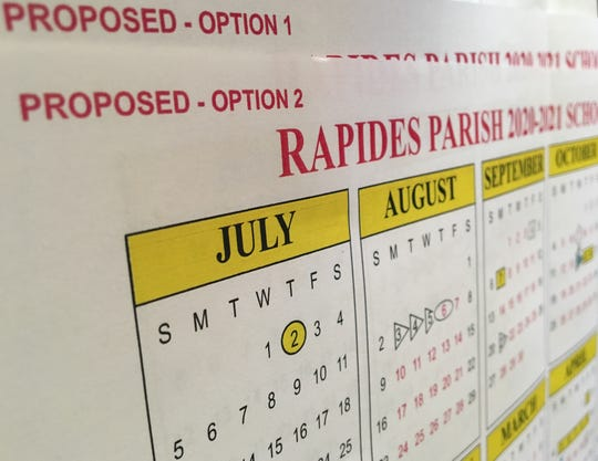 Voting on the two options for the Rapides Parish schools 2020-21 calendar is open through Dec. 20.