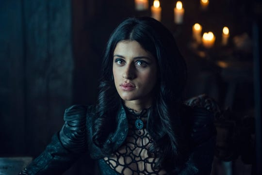 """Anya Chalotra as Yennefer in the new Netflix series """"The Witcher."""""""