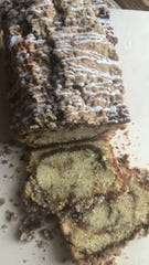 Cinnamon Streussel Loaf from 29 Hance Bakehouse in Atlantic Highlands.