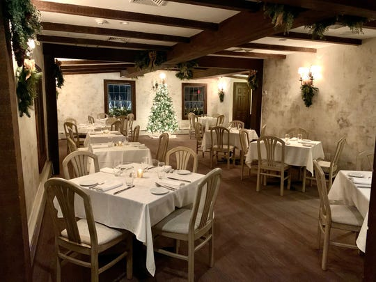 At Gargiulo's in Tinton Falls, the upstairs dining room accommodates parties of between 30 and 45 people.