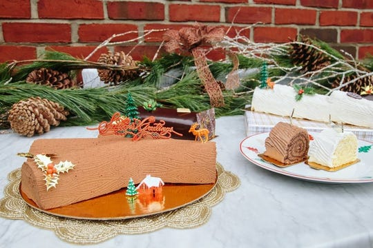 Antoinette Boulangerie in Red Bank offers a variety of bûche de Nöel for the holidays.