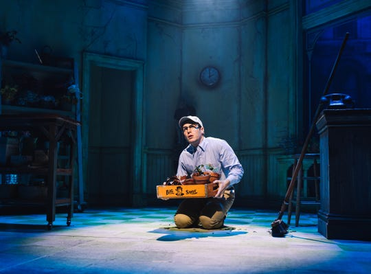 """Jonathan Groff in """"Little Shop of Horrors."""""""