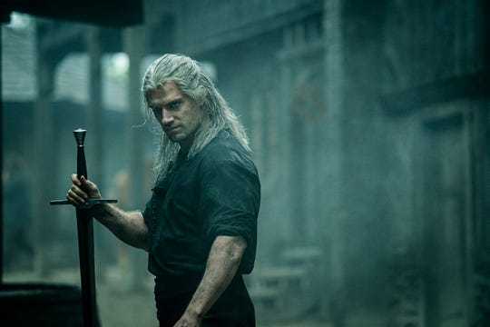 """Henry Cavill as Geralt of Rivia in the new Netflix series """"The Witcher."""""""