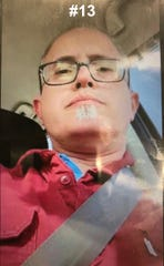 Abilene police released on Tuesday this photo of a man, along with 14 others, wanted in connection with a human trafficking case and prostitution. He was later identified as Jim Counts, a Mann Middle School math teacher who has since been put on administrative leave.