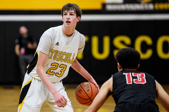 Pisgah took on Tuscola in Waynesville December 3, 2019.