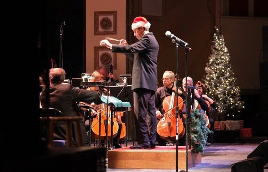 "Daniel Hege will lead the Binghamton Philharmonic Orchestra during its ""Home for the Holidays"" concert on Saturday."