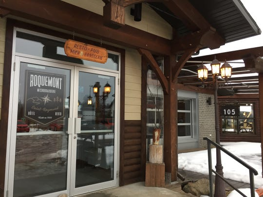 The Hotel Roquemont resto-pub-microbrewery is an hour's drive west of Quebec City.