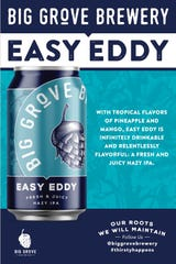 Easy Eddy is Big Grove Brewery's candidate for the Beer Caucus.