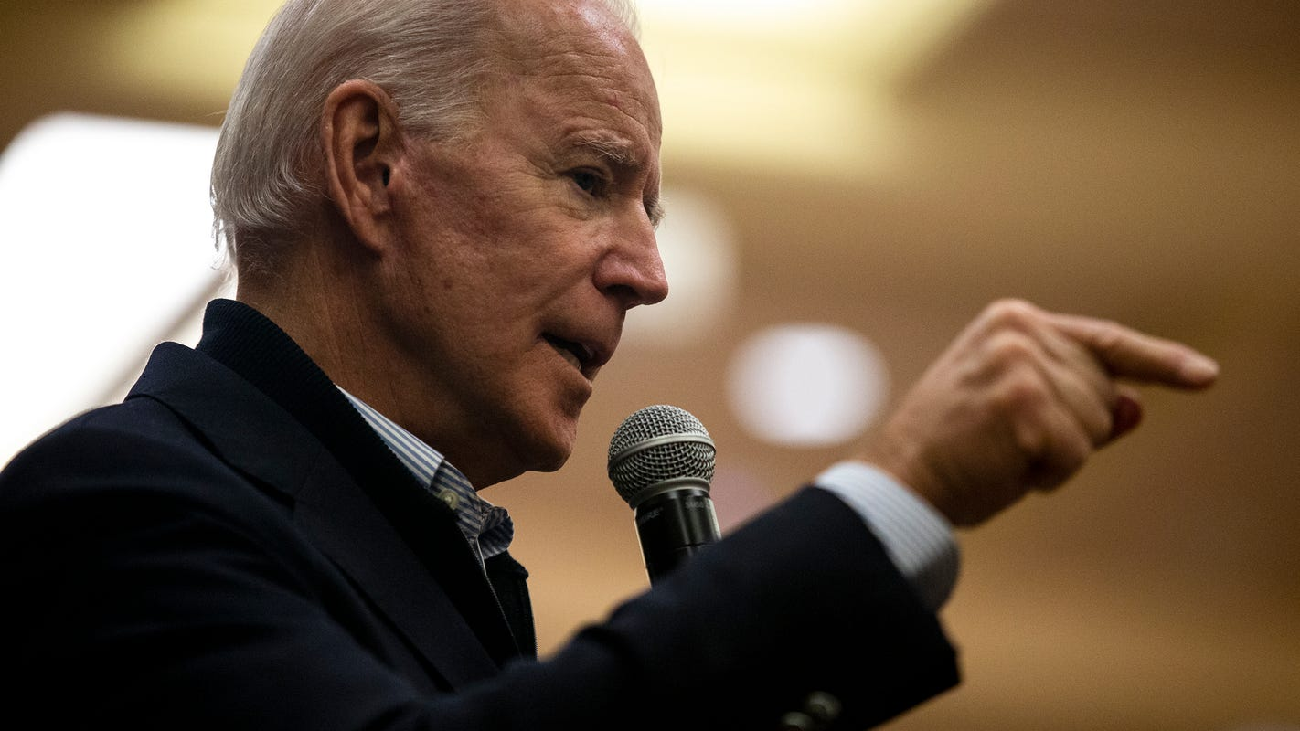 'You're a damn liar, man': Joe Biden chides voter over accusation about Ukraine