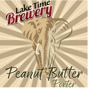 Peanut Butter Porter is Lake Time Brewery's candidate for the Beer Caucus.