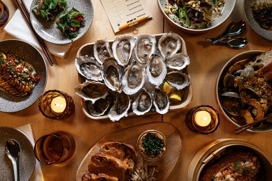 Mink will have a selection of seafood options as well as vegetables.