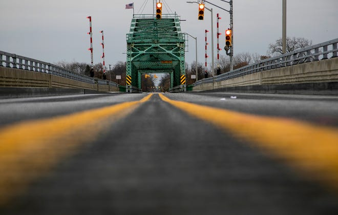The Grosse Ile Parkway free bridge officially opened to the public Thursday, Nov. 21, 2019.