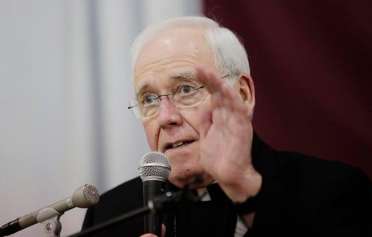 Bishop Richard Malone of Buffalo