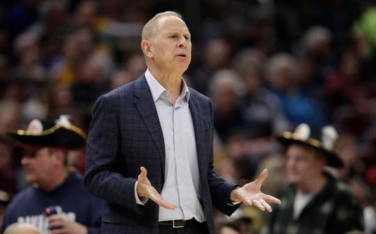 Cavaliers coach John Beilein guided the Wolverines to the championship game twice in his 12-year tenure at Michigan.