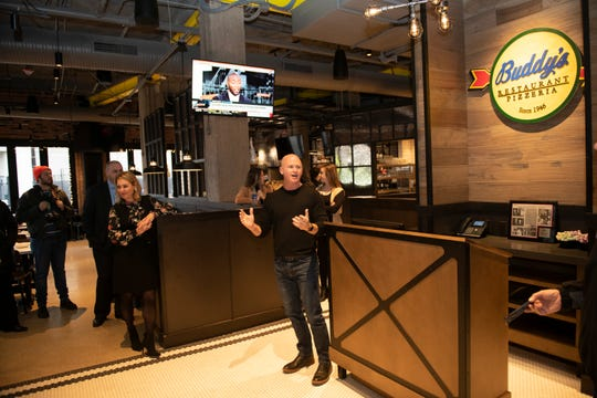 Burton Heiss, the new CEO of Buddy's Pizza, talks about the long-time Metro Detroit restaurant chain opening it's first restaurant in downtown Detroit, in the historic Madison Building off Grand Circus Park.