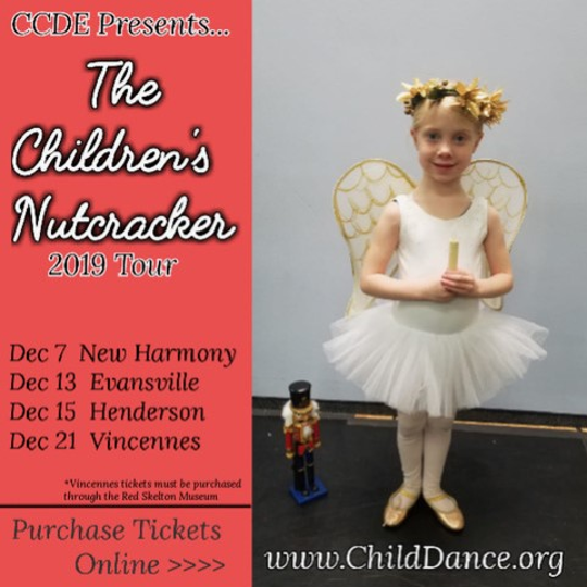 The Children's Nutcracker by the Children's Center for Dance Education has several performances including Friday and Sunday.