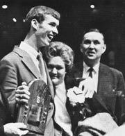 Jim Trout receives Trester Award.
