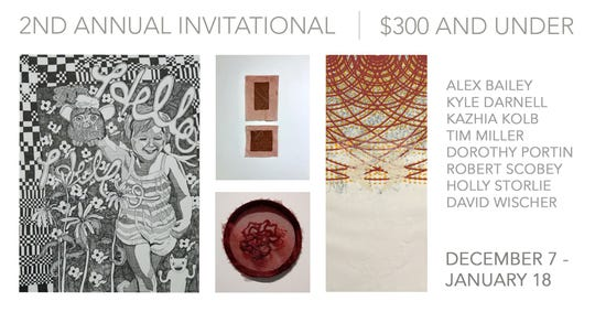 Gamut Gallery is celebrating their 2nd Annual Invitational with an opening reception Saturday.