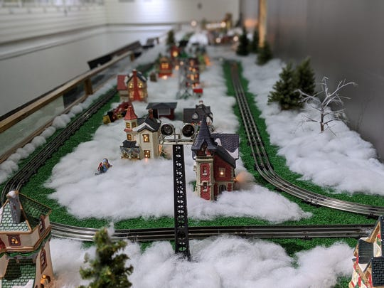 Annual model train display at Hayes center brings out the kids in all.