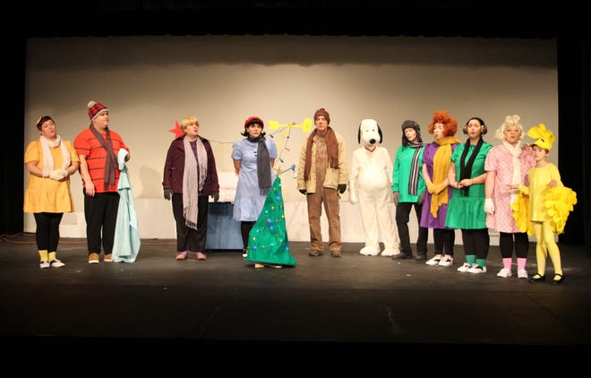 """The Fremont Community Theatre's Christmas show will feature """"A Charlie Brown Christmas"""" and Disney's """"Frozen, Jr!"""" as a double feature performance. The double feature opens Friday at 7:30 p.m."""