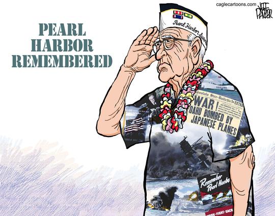 Pearl Harbor Veteran Memorial