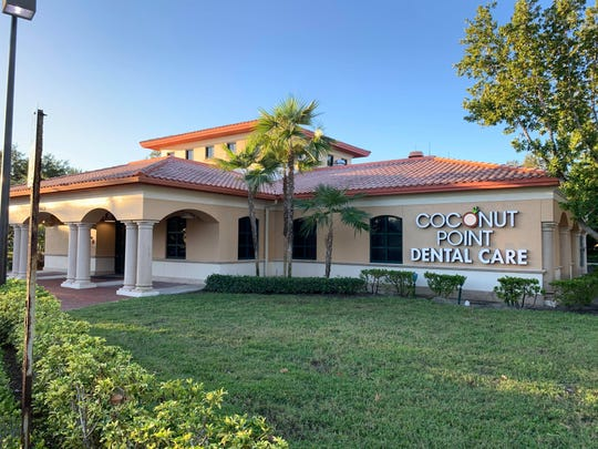 A former IberiaBank branch has been converted into a dental office called Coconut Point Dental Care in Estero.