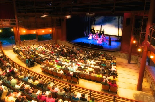 The 600-plus-seat, all-weather pavilion at Peninsula Players Theater, which just announced its 2020 season.