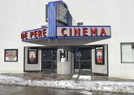 De Pere Cinema, 417 George St., has been an entertainment centerpiece in downtown De Pere since the early 1900s.