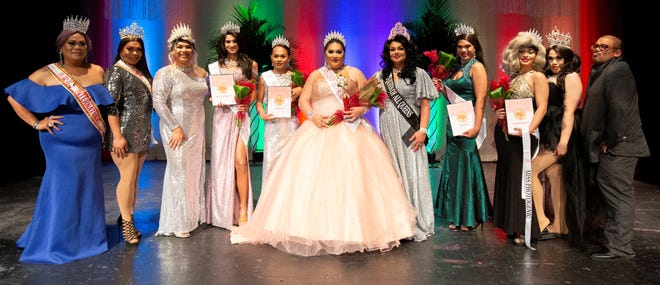 Miss Queen of the Pacific International 2018 Trinity Hufana, MQP Ambassador 2018 Daimond, MQP 2018 Xylana Guahanila, MQP International 2019 Pua' Olena, MQP 2019 second runner-up Shania Kae, Miss Queen of the Pacific 2019 Reena Diosa, Owner, National Director and LFP's queen of all queens Leah Su-Nami, MQP 2019 first runner-up Xerabel Guahanila, MQP 2019 Ambassador Anita Rubbher, MQP 2013 and Mistress of Ceremony Ayva Janiece Cepeda, Master of Ceremony Kyle Mandapat.