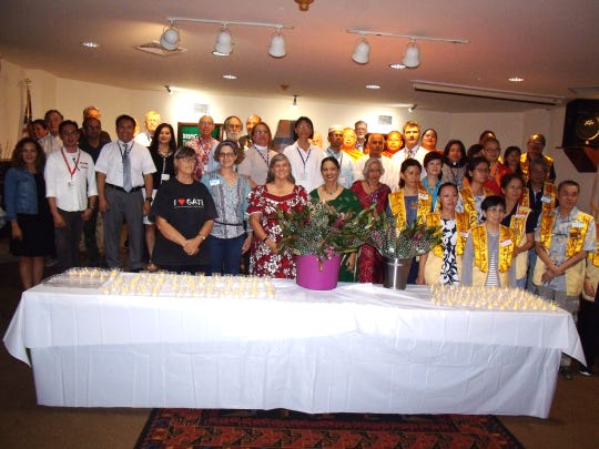 Guam Interfaith's 19th annual Thanksgiving prayer was held Nov. 21, 2019 at Guam United Methodist Church in Mangilao. Committee members offered lights and flowers.