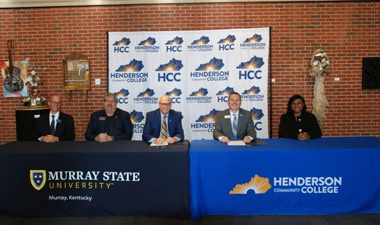 On November 27, 2019, Dr. Jason Warren, President & CEO of Henderson Community College and Dr. Robert Jackson, President of Murray State University  along with other representatives from each college, signed a new Memorandum of Agreement  to be continued through June 30, 2021.