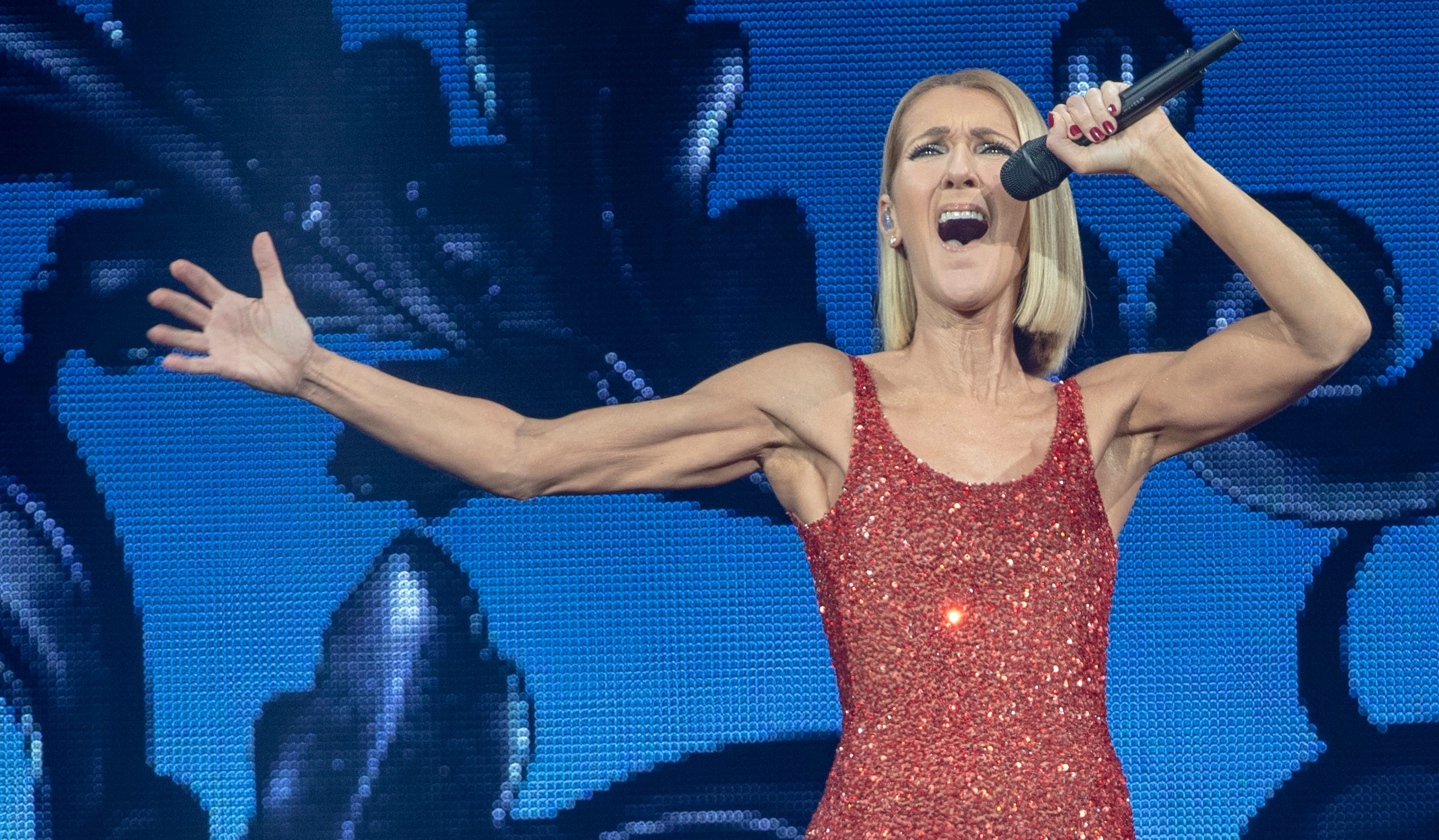 Photos: Celine Dion's Courage World Tour in Indianapolis