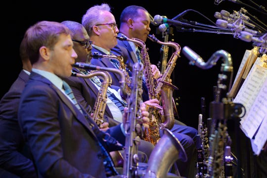 Members of the Jazz at Lincoln Center Orchestra.